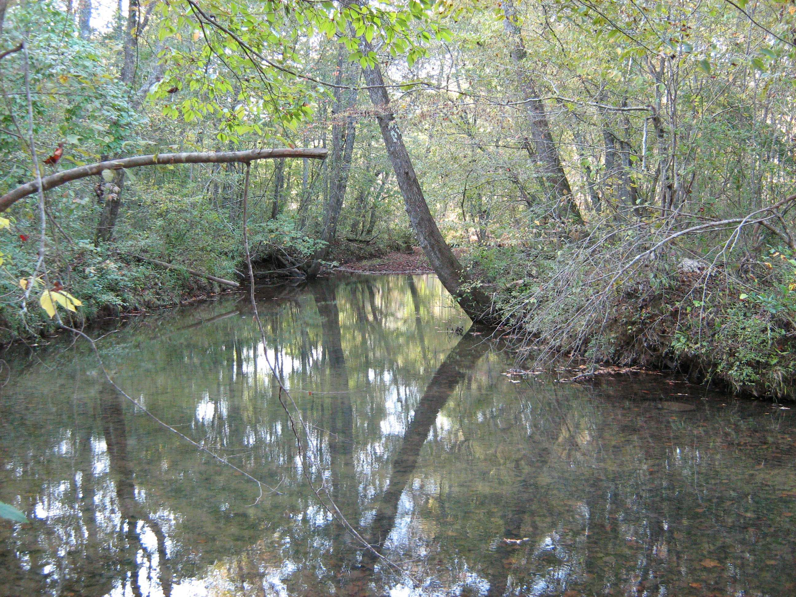 Little Indian Creek goes through the property for 1 mile
