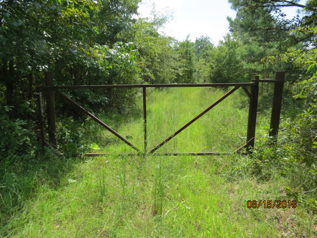 A nice sturdy, welded steel gate