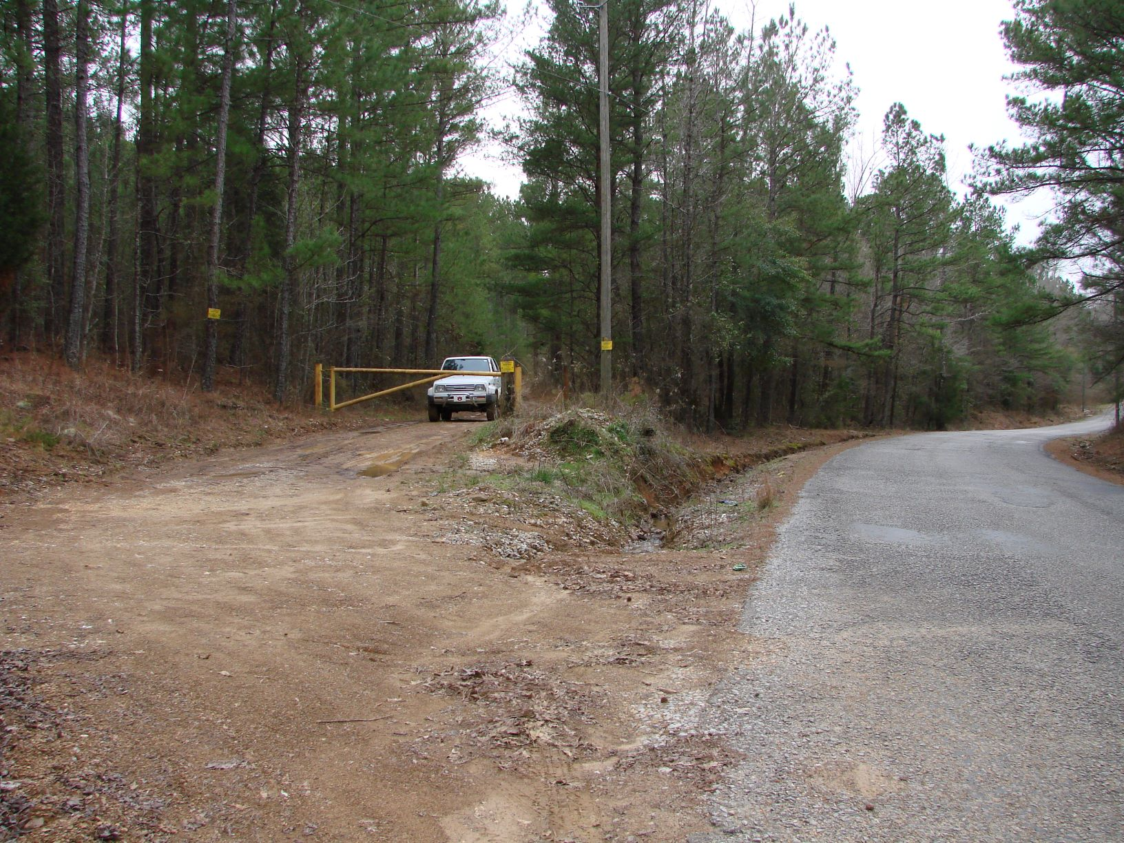 Deeded access off Hopewell Church Road