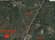 Home Site with Development Potential and Lay Lake Access