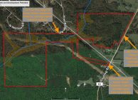 Timberland with Creek + Excellent Homesite and Subdivision Potential